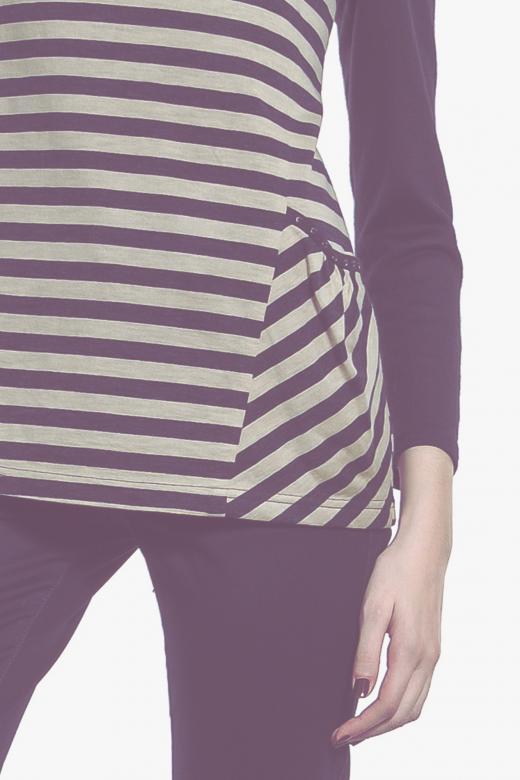 Spodnie bawełniany z motywem awokado