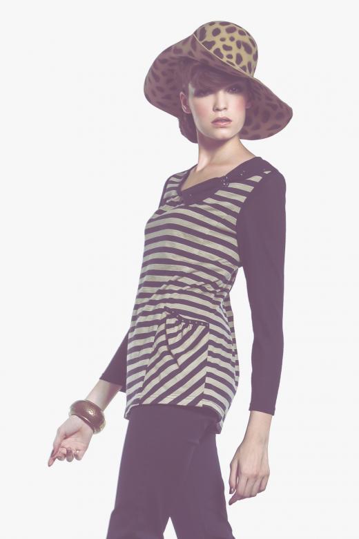 Sukienka z nadrukiem z motywem awokado