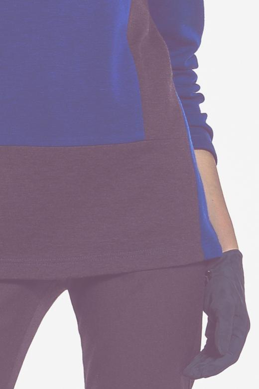 Bluza ze stretchem w kropki